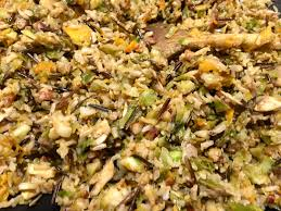 Sprout Pumpkin Seeds Recipe by Wild Rice Brussels Sprouts Pecan Nut And Goats Cheese Stuffed