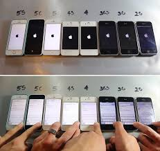 Every IPhone Ever Made Side By In Action