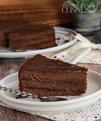 recette de cuisine gateau sachertorte recette gateau autrichien au chocolat amour de cuisine