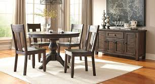 American Freight Dining Room Sets by Trudell Round Dining Room Set Casual Dining Sets Dining Room