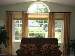 Arched Or Curved Window Curtain Rod Canada by Large Window Curtains Another Nice Idea Curtain Large Size Of