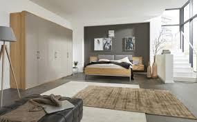 interliving schlafzimmer serie 1008 schlafzimmerkombination taupefarbene lackoberflächen balkeneiche vierteilig
