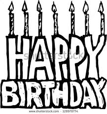 Black And White Happy Birthday Graphics Quotes Lol Rofl 5Nvcuu Clipart