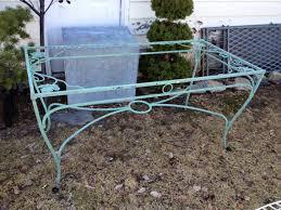 Salterini Iron Patio Furniture by Vintage Wrought Iron Salterini Maple Leaf Dining By Thegraygarden