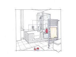 grundrisse für kleine bäder mini bad mit wanne und dusche