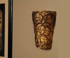 candle battery powered wall sconce all about home design