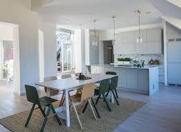 sisal teppich rechteckig skandinavisch küche hellgrau