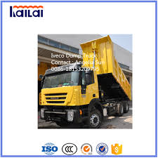 China 380HP 6X4 Iveco Genlyon Dump Truck 2016 Best Selling Iveco ...