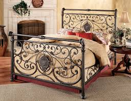 Wrought Iron Cal King Headboard by Amazon Com Hillsdale Furniture 1039bkr Mercer Bed Set With Rails