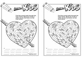 Joyous Love Your Neighbor Coloring Page Bible Pages