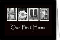 Our First 1st Home Announcements From Greeting Card Universe