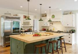Kitchen Farmhouse Style Islands Rustic With Seating Blue Island Storage