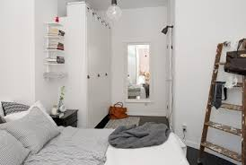 schlafzimmer begehbarer kleiderschrank in kleine wohnung
