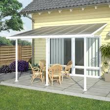 pergola adossee pas cher chalet jardin pergola alu adossée couv terrasse 3 x 4 m blanc