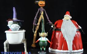Nightmare Before Christmas Bath Toy Set by Diamond Select Toys The Nightmare Before Christmas Select Series 3