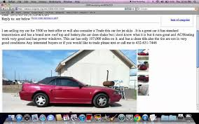 Craigslist Midland Texas - Finding Used Cars And Trucks Under $4500 ...