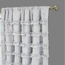Target Canada Eclipse Curtains by Interior Ruffled Curtain White Ruffle Curtains Pink Ruffle