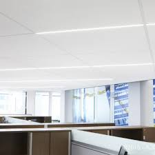 linear lighting integration armstrong ceiling solutions commercial