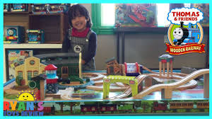 thomas and friends wooden railway play table toy trains for kids