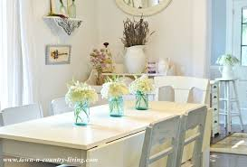 Summer Country Farmhouse Dining Room Via Town And Living