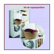 kit superposition lave linge seche linge pour seche linge lavage