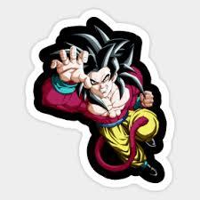 Goku Ssj4 Stickers