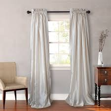 Curtain Rod Brackets Kohls by Landing Solid Lined Window Curtain Pair