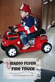 Being MVP: Radio Flyer 25 Days Of #Giveaways | Battery Powered Fire ... Buy Rescue Team Large Fire Truck With Lights And Sounds Bump N Go Dickie Battery Operated Try Me 31cm Vintage Tin Fire Truck Battery Operated Toy Made By Nomura Japan Kids Unboxing And Review Dodge Ram 3500 Ride On 45 Off On Kalee 12v Rideon Creative Abs 158 Mini Rc Engine 738 Free Shippinggearbestcom Fisherprice Power Wheels Paw Patrol Powered Toys Playtime That Emob Die Cast Metal Pull Back Toy With Light Funtok Electric Car Trade Radio Flyer For 2 Lot Detail 1950s Tin Chemical