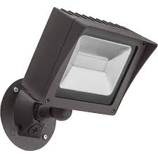lithonia lighting bronze outdoor integrated led wall mount flood