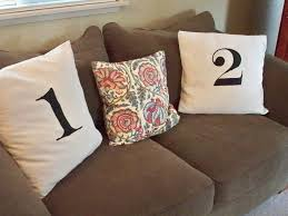 Pottery Barn Throw Pillows by Look Alike Pottery Barn Number Pillows Fabulously Classic