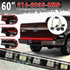 100 Running Lights For Trucks Amazoncom Partsam 60 216LEDs Tailgate LED Strip Light Bar