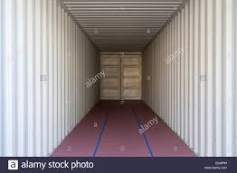 100 Shipping Container Flooring A Symmetrical Image Of The Interior Of A Standard Cargo