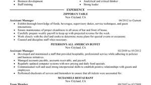 Unforgettable Assistant Restaurant Manager Resume Examples ... Sales Manager Job Description For Resume Operations Examples 2019 Best Restaurant Assistant Example Livecareer General Luxury Bar Security Intern Sample 20 Plus Kenyafuntripcom Hospality Complete Guide Tips Cv Crossword Mplate Example Hotel General Retail Store Beautiful Business Lan N Bank Branch Plan Template New Samples And Templates Visualcv Bar Manager Duties Jasonkellyphotoco