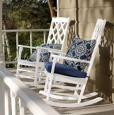 Lovely And Comfy White Rocking Chair   Royals Courage My Favorite Finds Rocking Chairs Down Time Exciting Rattan Wicker Chair Cushions Agreeable Fniture Rural Grey Wooden Single Rocking Chair Departments Diy At Bq Outdoor A L Hickory 7 Slat Rocker In 2019 Handsome Green Tweed Cushion Latex Foam Rustic American Sedona Lowes For Inspiring Antique Classic Check Taupe Plaid Standish Darek La Lune Collection Belham Living Raeburn Rope And Wood Walmartcom