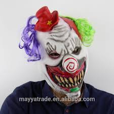 Scary Halloween Half Masks by List Manufacturers Of Scary Clown Mask Buy Scary Clown Mask Get