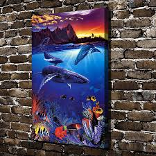 100 Christian Lassen Prints A0632 Riese Hawaii Sea Passage HD Canvas Print