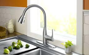 Foot Pedal Faucet Kohler by Wall Mount Sink Faucet Kitchen Kohler Arise Vibrant Stainless 1