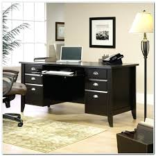 desk sauder shoal creek organizer desk hutch jamocha wood sauder
