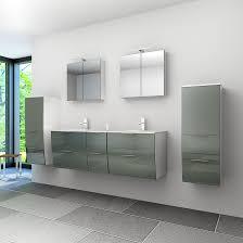 badmöbel set gently 2 v3 weiß grau badezimmermöbel doppelwaschtisch 150cm nein ohne led beleuchtung