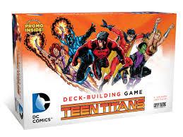 dc comics deck building game teen titans cryptozoic entertainment
