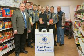 Montville Township Police Explorers Hold Successful Food Drive