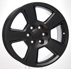 100 Oem Chevy Truck Wheels New Style LTZ Black Gloss 20