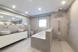 design badezimmer beton versiegelt raumkonzept trier