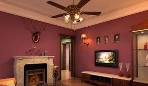 Room Ceiling Fans Inch Iron Leaf Lights Fan Living Dining