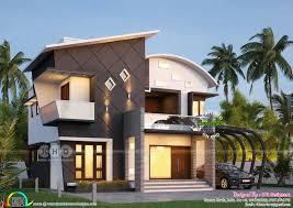 100 Modern Contemporary Home Design Stunning Ultra Modern 4 BHK Kerala House Plan Kerala Home Design