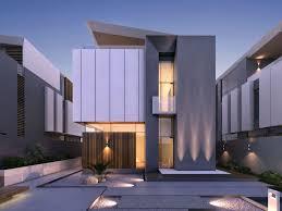100 Contemporary House Facades General Roomy Deck Area Exterior Designs 48 Stunning