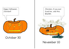 Keep My Pumpkin From Rotting by Pumpkin Rot The November Tragedy Science Buzz