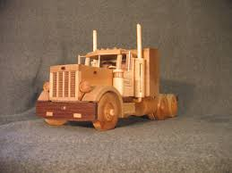 Wooden Toy Peterbilt Trucks, Wooden Truck Plans | Trucks Accessories ...