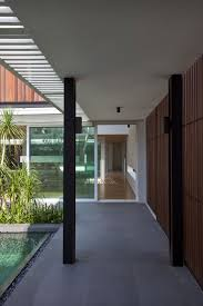 100 Wallflower Architects Enclosed Open House By Architecture Design 9