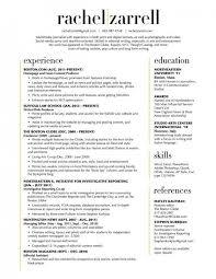 Resume Templates 2 Columns ResumeTemplates